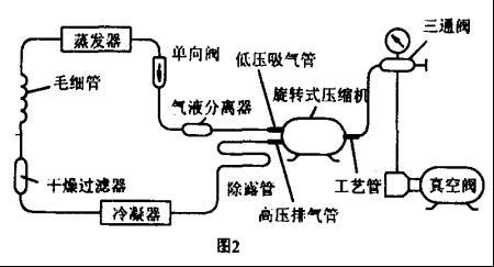 气泵磁力接线图